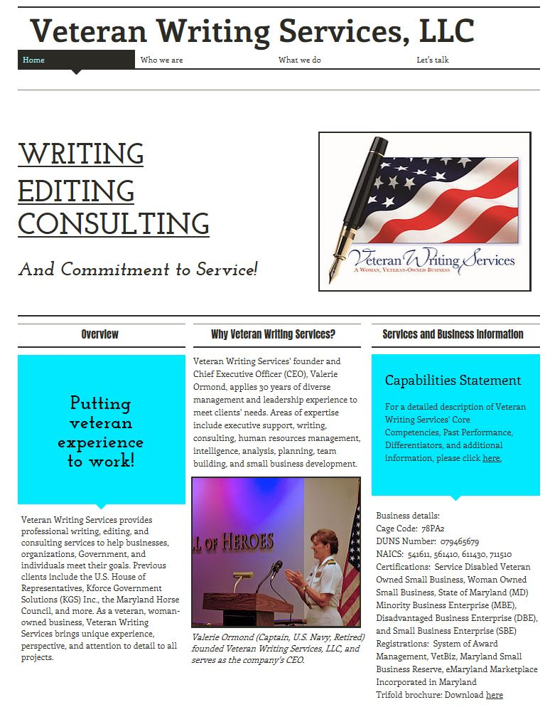 Editing and writing service websites